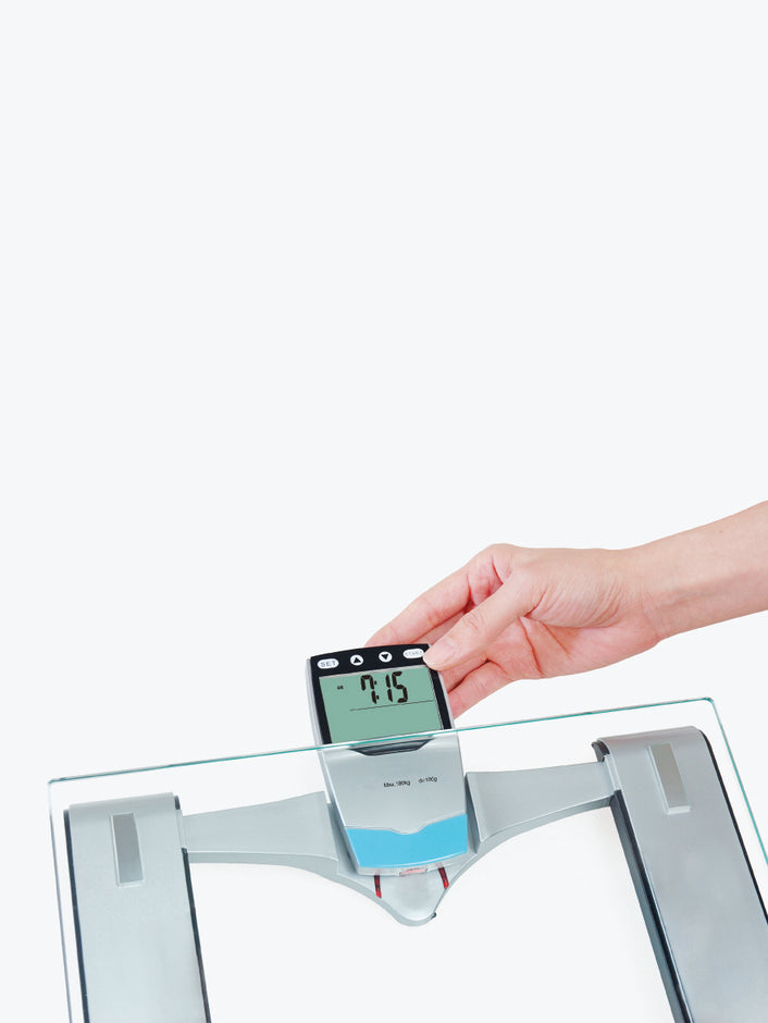 5-in-1 Digital Body Fat Scale in Silver