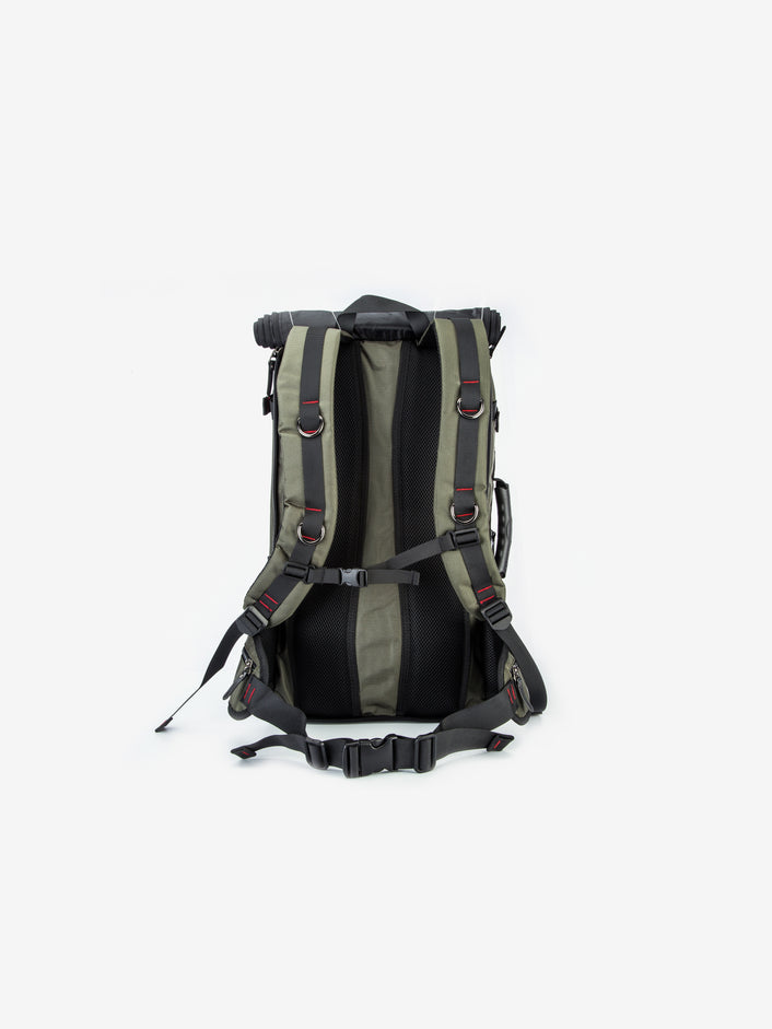 The Resistance Backpack in Army Green