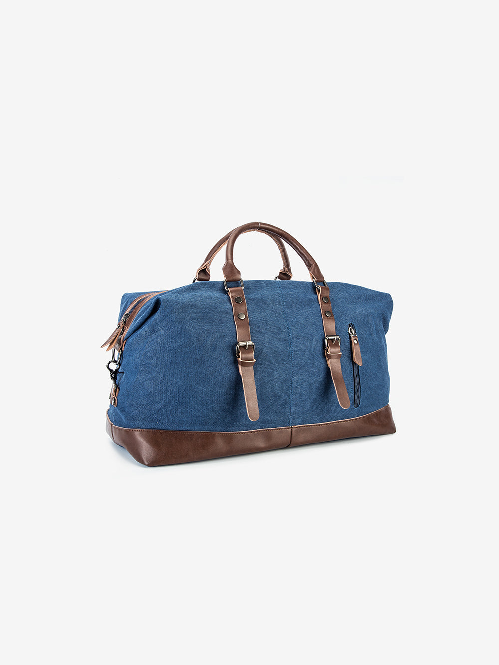 The Canvas Weekender Bag in Denim