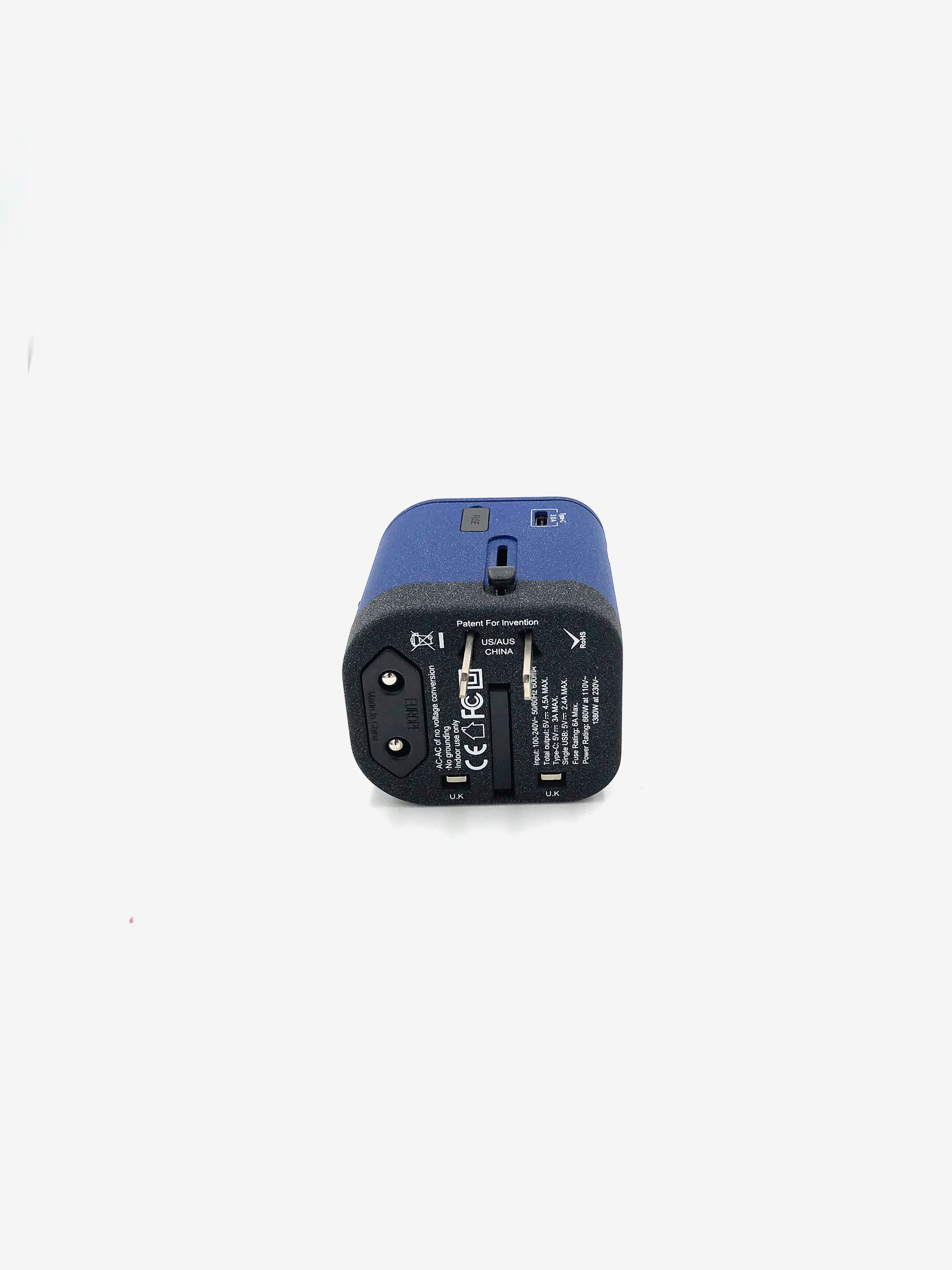 Universal Travel Adapter in Navy