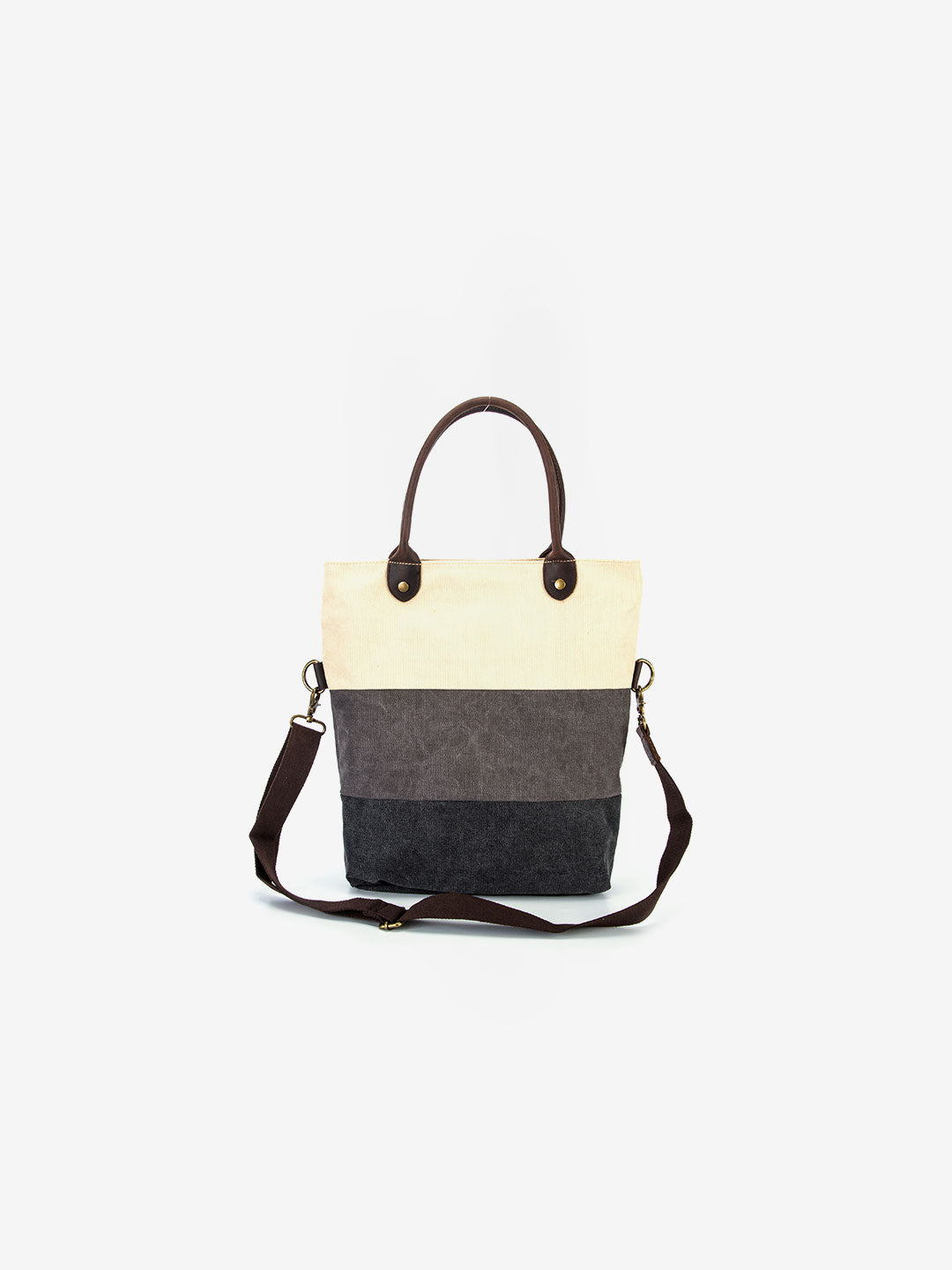 The Tribeca Tote in Pearl