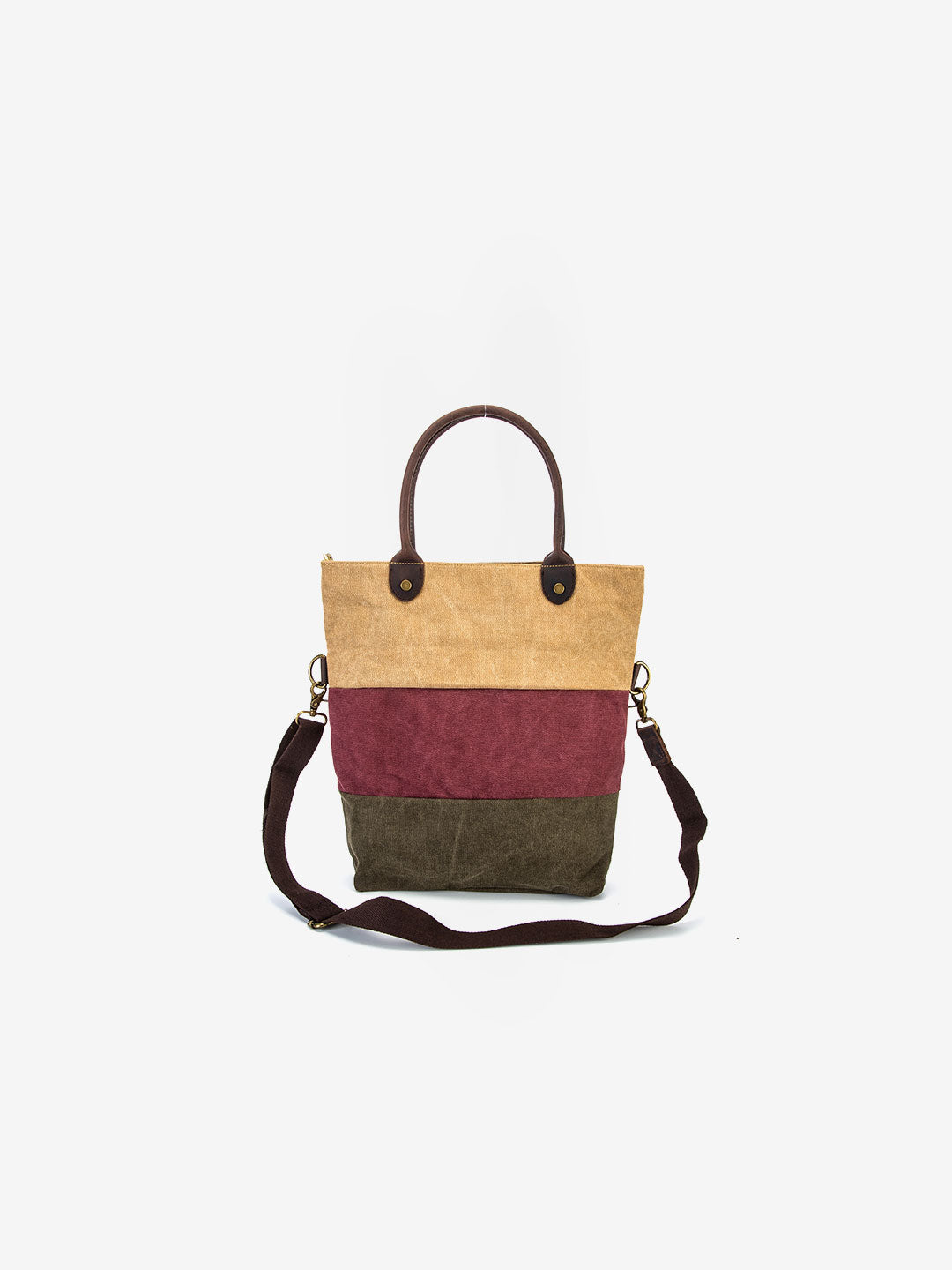 The Tribeca Tote in Cinnamon