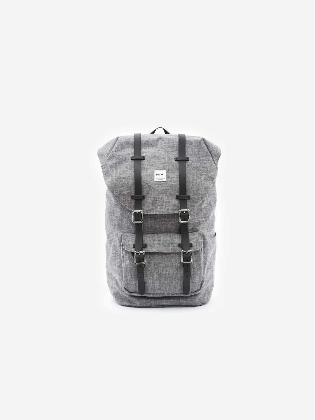The Knapsack in Charcoal Grey