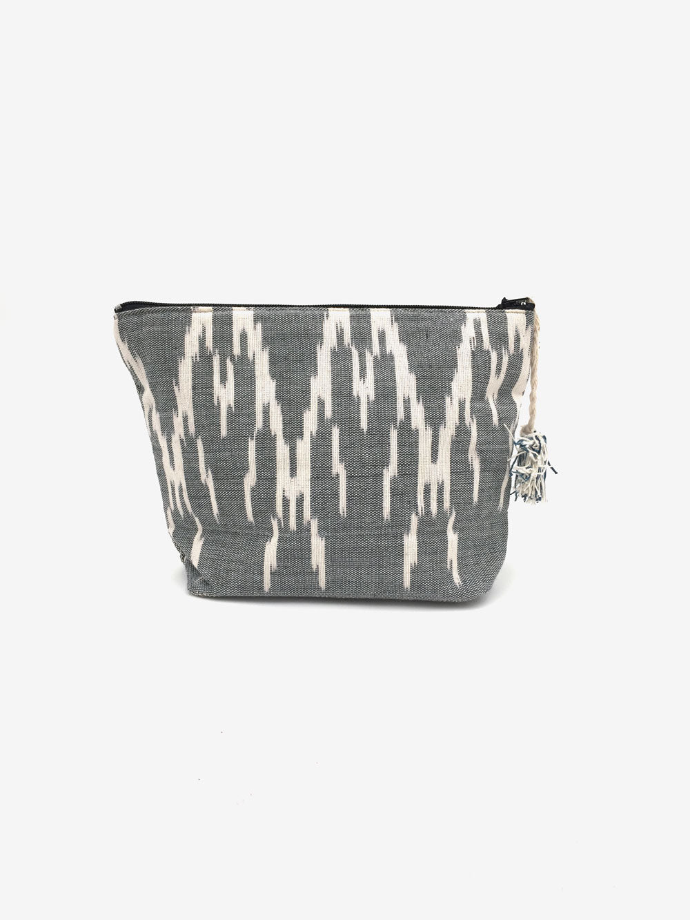 Handwoven Pouch in Charcoal Grey