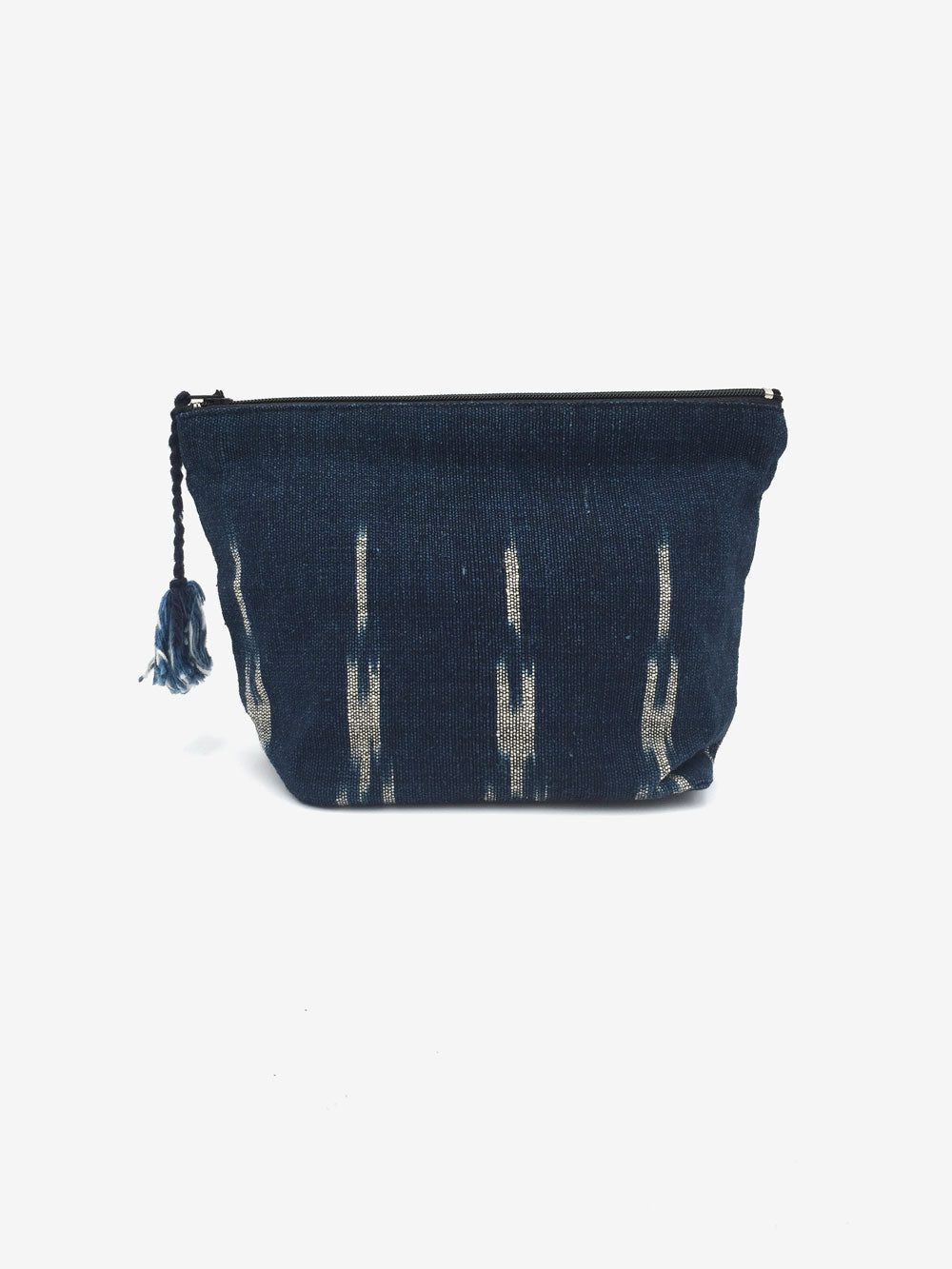 Handwoven Pouch in Navy