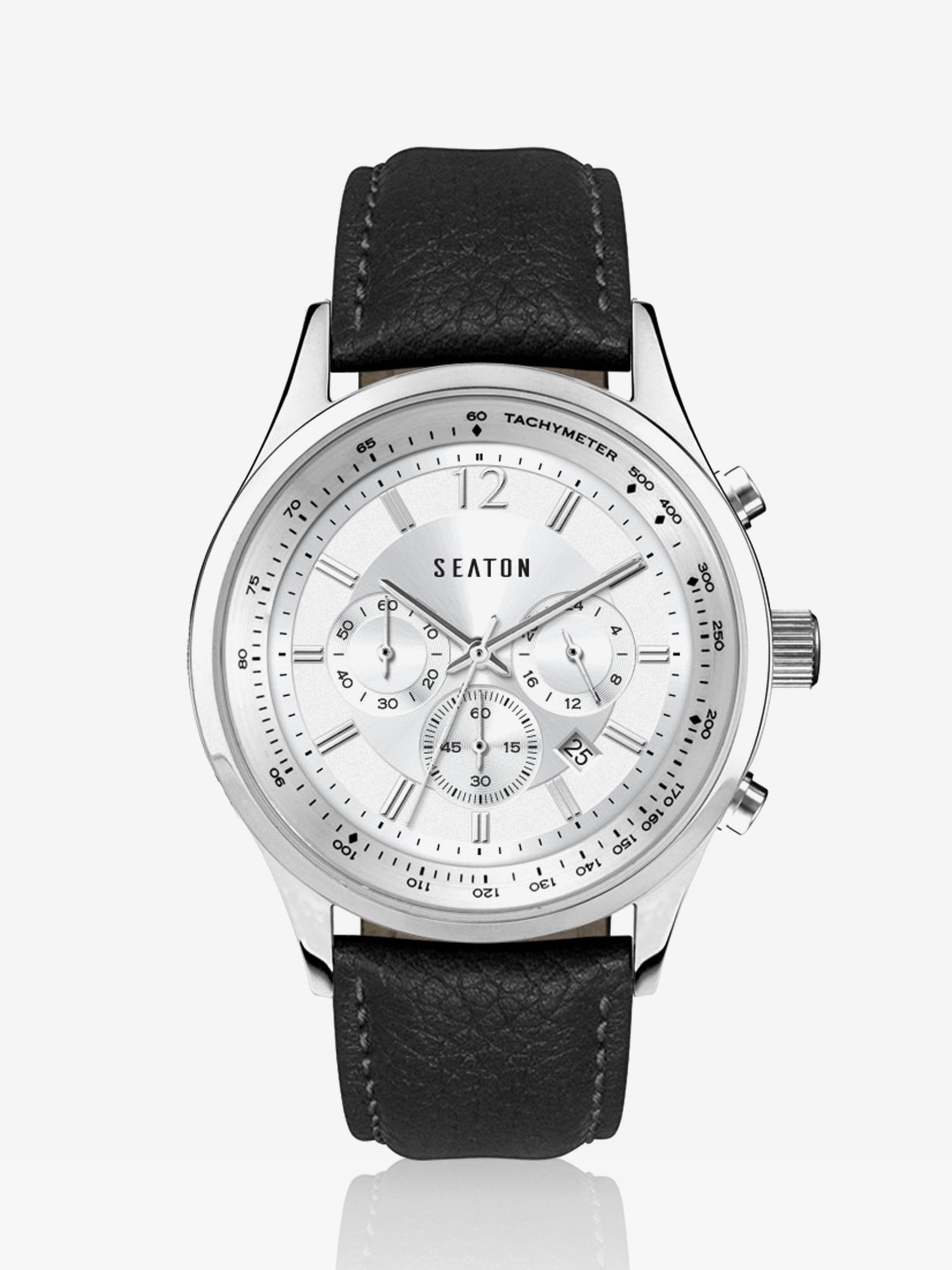 Wesley Chronograph in Silver