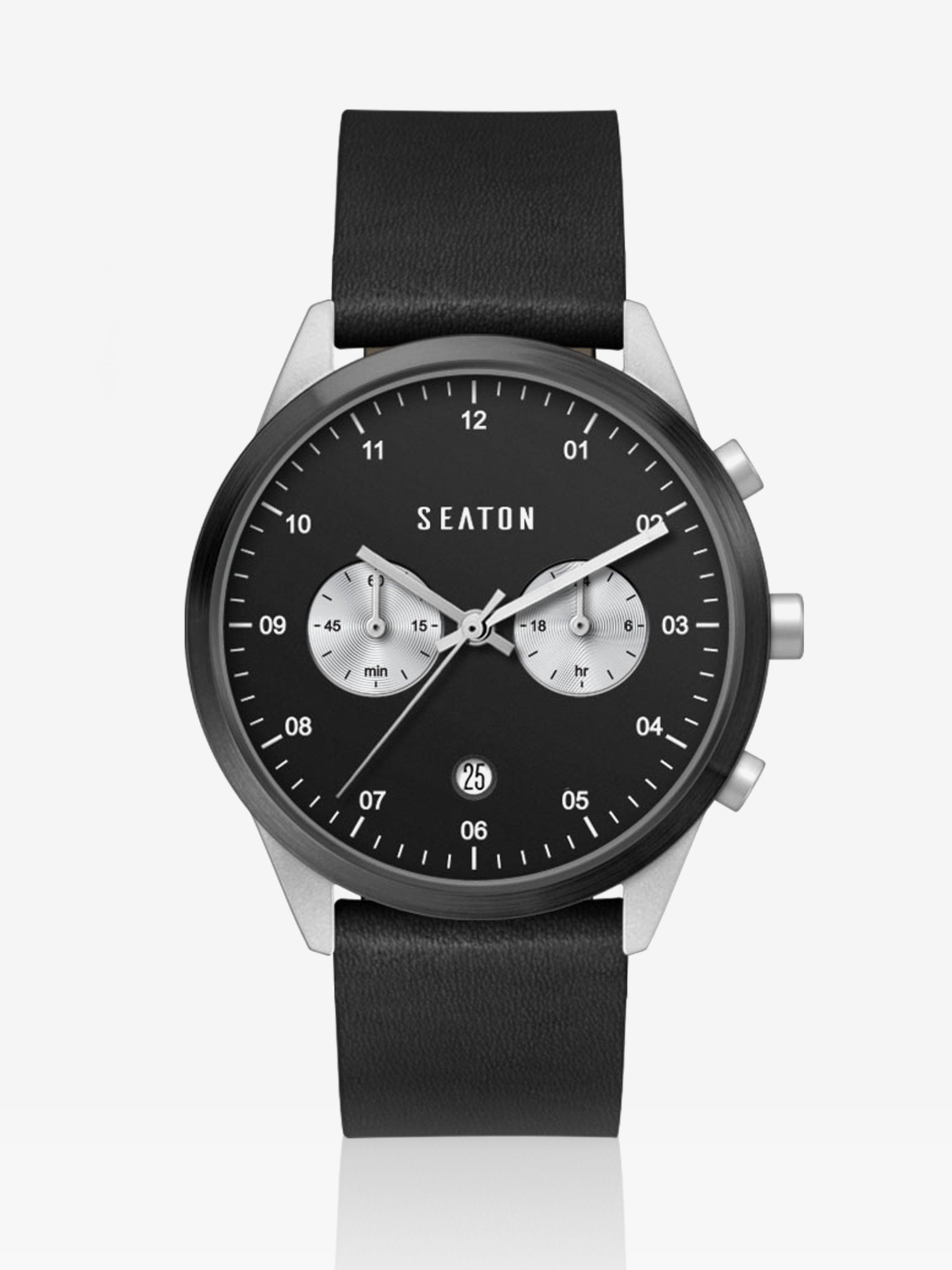 Derby Chronograph in Black
