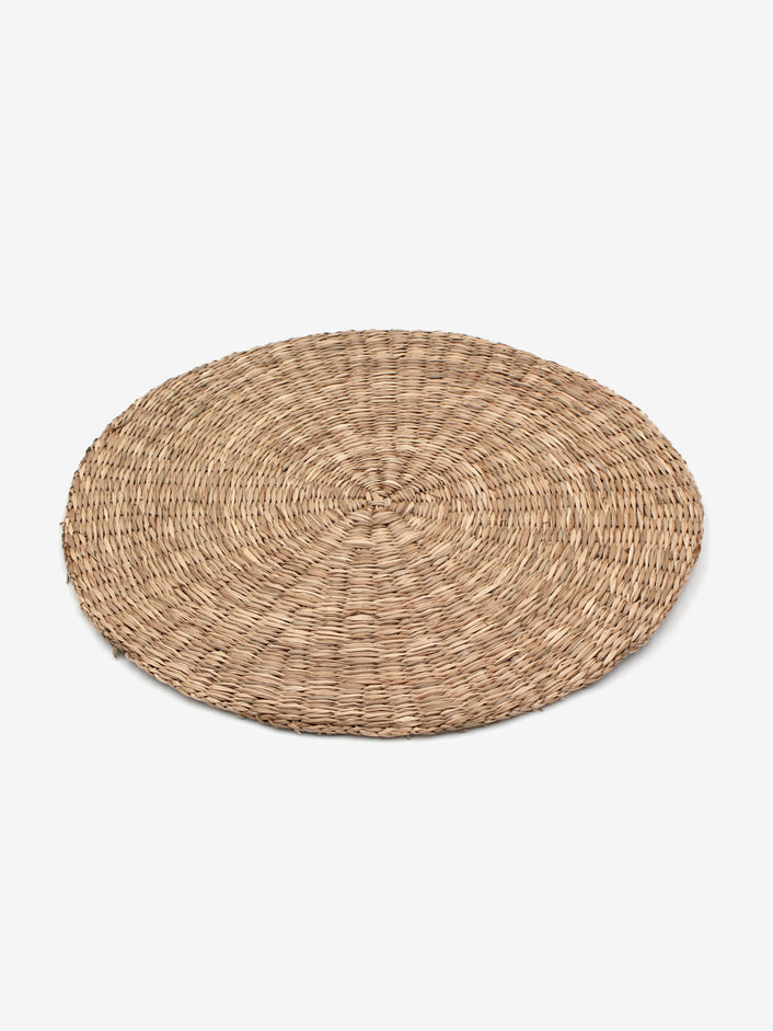 Round Rattan Placemats in Natural (Set of 4)