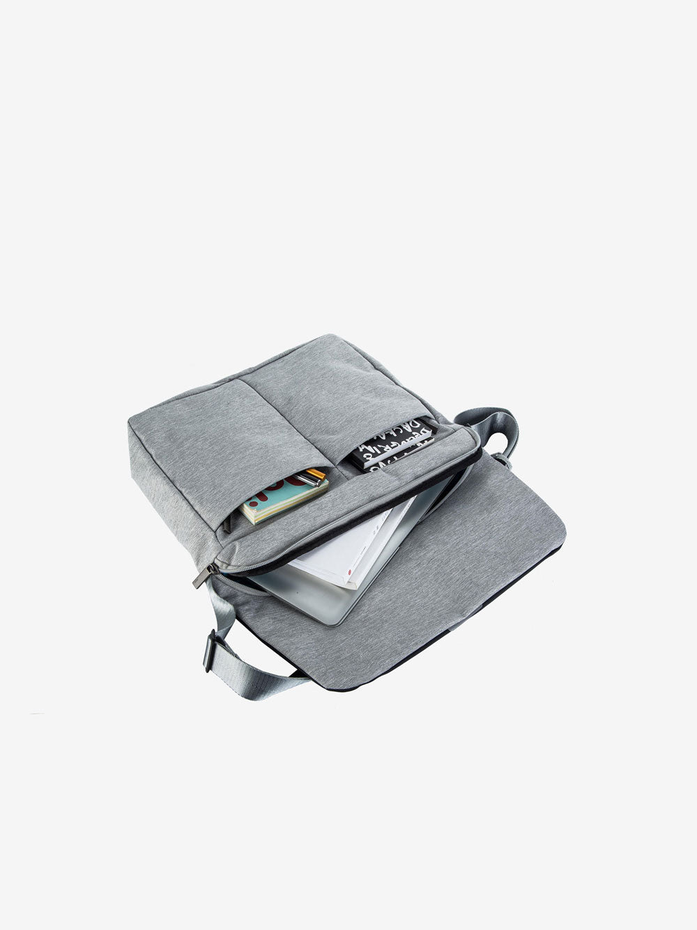 The Smart Messenger in Pebble Grey