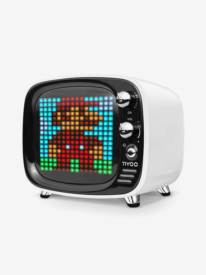 Smart Pixel Bluetooth Speaker in White