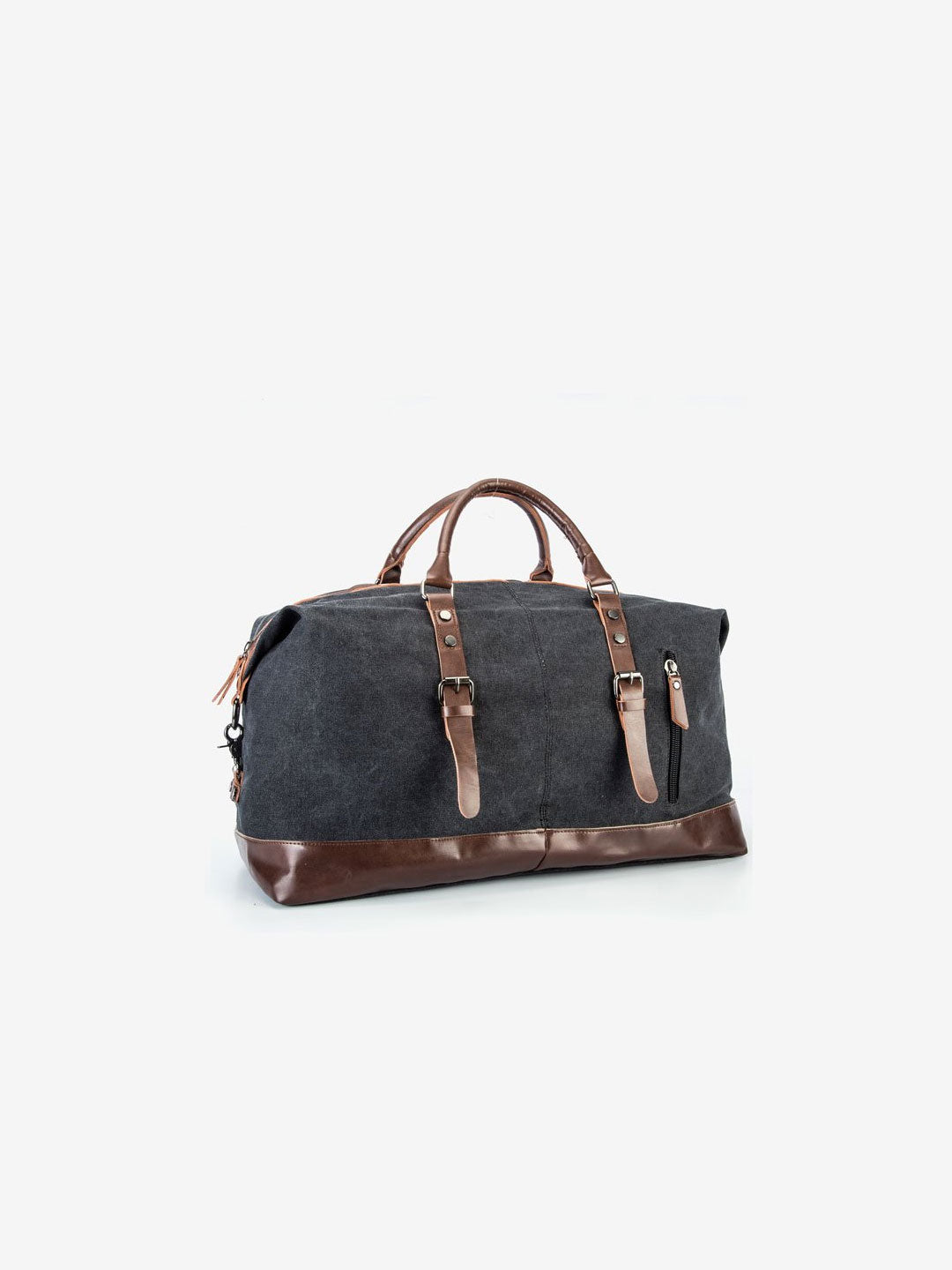 The Canvas Weekender Bag in Onyx