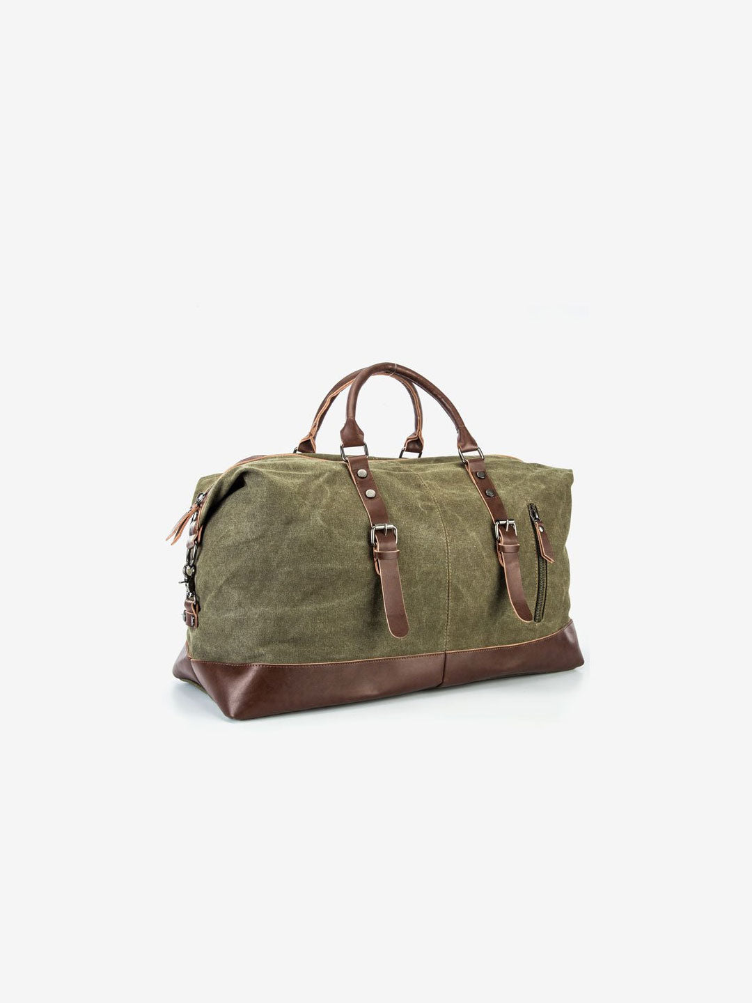 The Canvas Weekender Bag in Pine