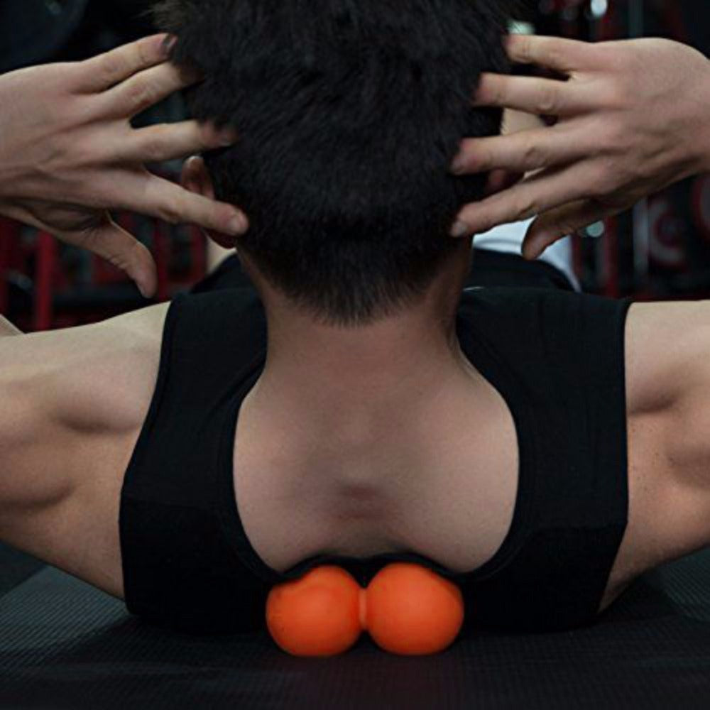 Double-Headed Muscle Massage Exercise Balls