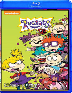RUGRATS THE COMPLETE SERIES INCLUDES THE MOVIES BLU RAY!!