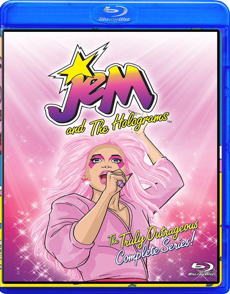 Jem and The Holograms Blu-Ray