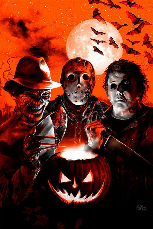 Post-A-Cal:  Freddy, Jason and Michael