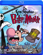 The Grim Adventures of Billy and Mandy Blu-Ray!!