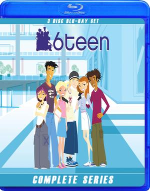 6TEEN THE COMPLETE SERIES ON 3 BLU RAY DISKS!