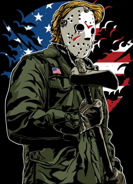 American Killer Color Vinyl Decal