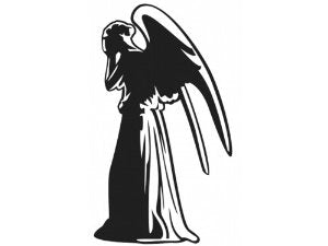 Dr Who Angel Vinyl Decal Sticker