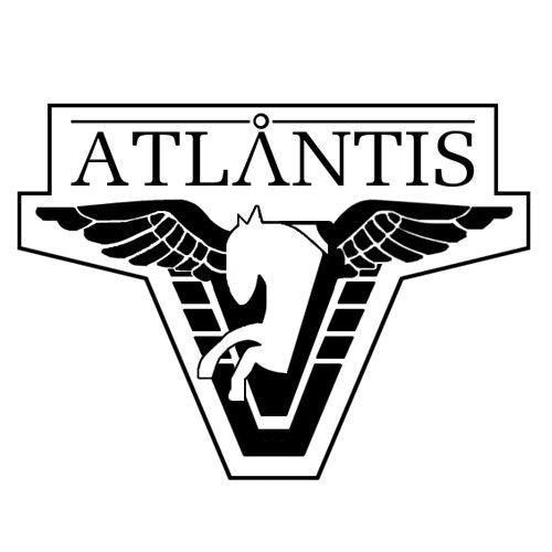 Aquaman Atlantis Logo Vinyl Decal