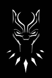 Black Panther Head (2) Vinyl Decal/Sticker