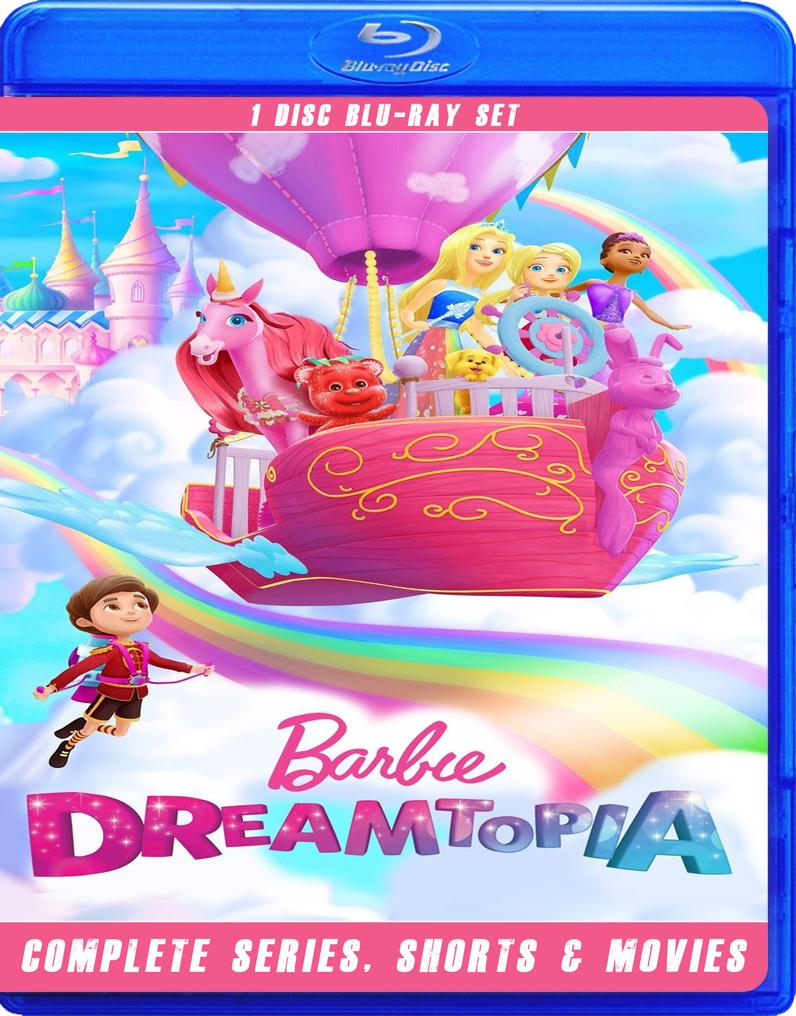 BARBIE DREAMTOPIA THE COMPLETE SERIES BLU RAY!