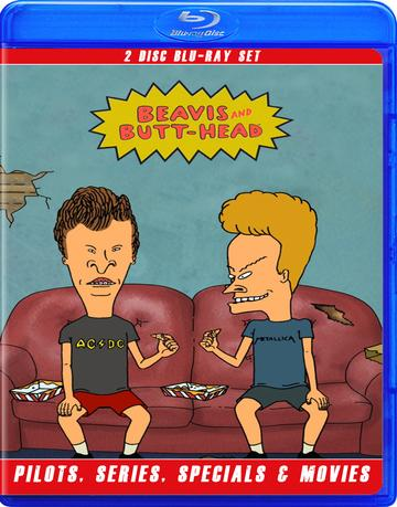 Beavis and Butthead The Complete Series Uncensored! Blu Ray!