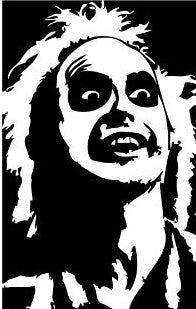 Beetlejuice Vinyl Decal Sticker
