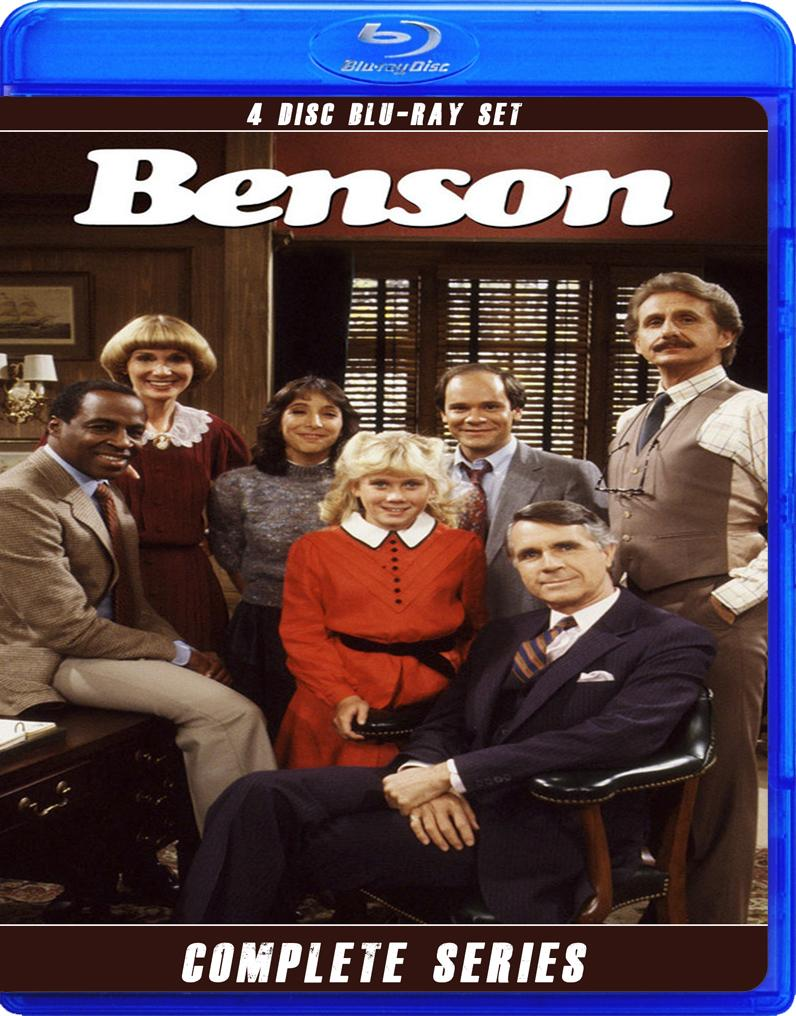 BENSON THE COMPLETE SERIES BLU RAY!