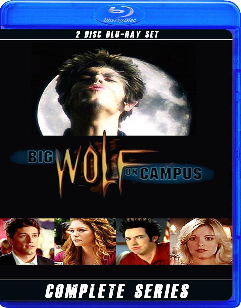 BIG WOLF ON CAMPUS THE COMPLETE SERIES BLU RAY!