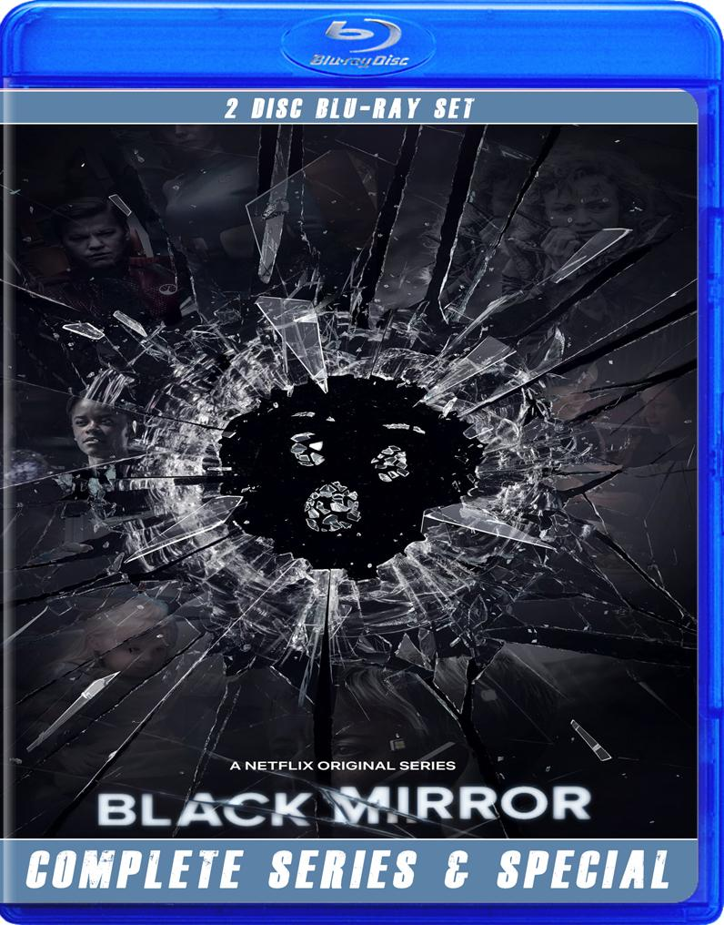 Black Mirror Complete Series and Special Blu Ray!