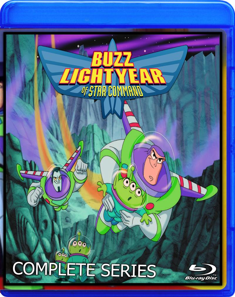 Buzz Lightyear of Star Command Blu-ray