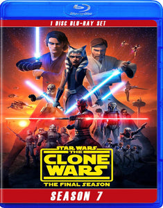 STAR WARS CLONE WARS SEASON 7 BLU RAY!!