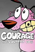 COURAGE THE COWARDLY DOG COMPLETE SERIES BLU RAY!!
