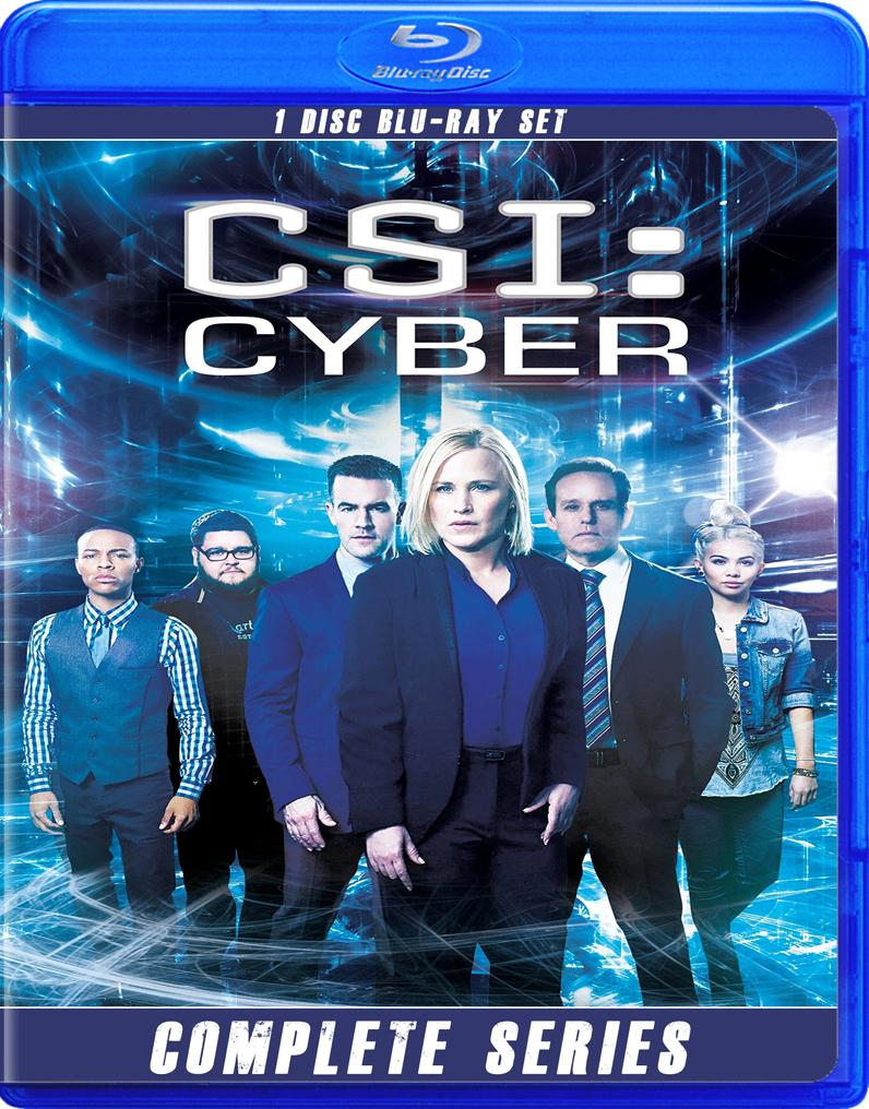 CSI CYPHER THE COMPLETE SERIES BLU RAY!!