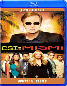 CSI MIAMI THE COMPLETE SERIES BLU RAY!