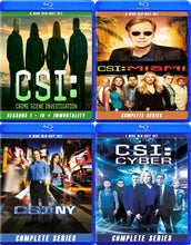 CSI ALL SERIES COMPLETE BLU RAY!!
