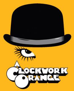 A Clockwork Orange Color Vinyl Decal
