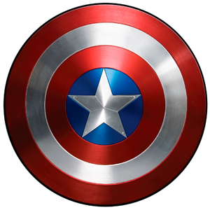 Captain America Shield Color Decal