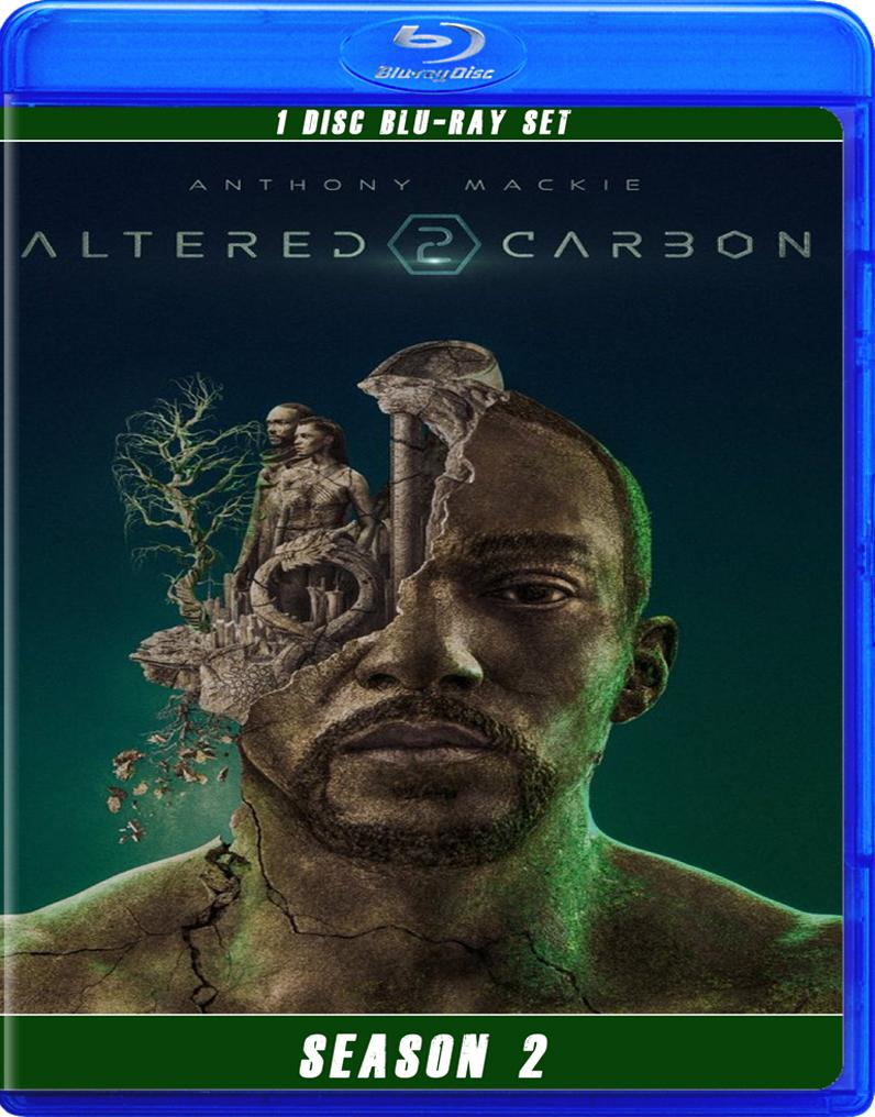 ALTERED CARBON SEASON 2 BLU RAY!