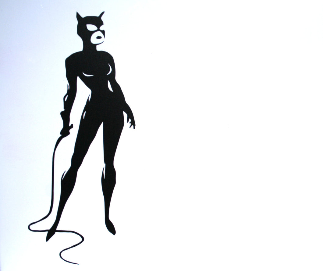 Catwoman Standing Vinyl Decal Sticker