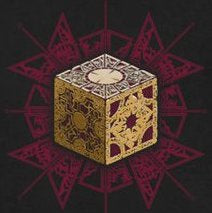 Hell Raiser Cenobite Cube Color Decal