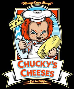 Chucky's Cheese Color Vinyl Decal