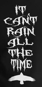 "Crow ""It Can't Rain All the Time"" Vinyl Decal"