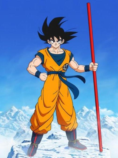 Dragon Ball Super Broly:  Goku Full Color Vinyl Decal