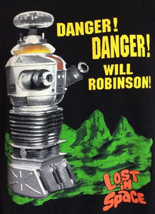 "Lost In Space ""Danger Will Robinson"" Color Vinyl Decal"