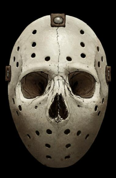 Jason Skull Mask Color Decal