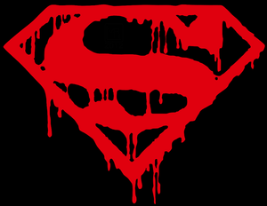 Death of Superman Vinyl Decal Sticker