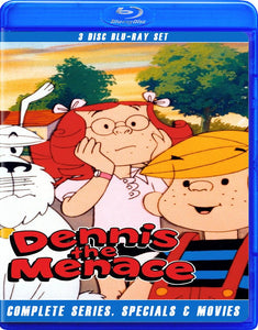 DENNIS THE MENACE ANIMATED COMPLETE SERIES BLU RAY!!